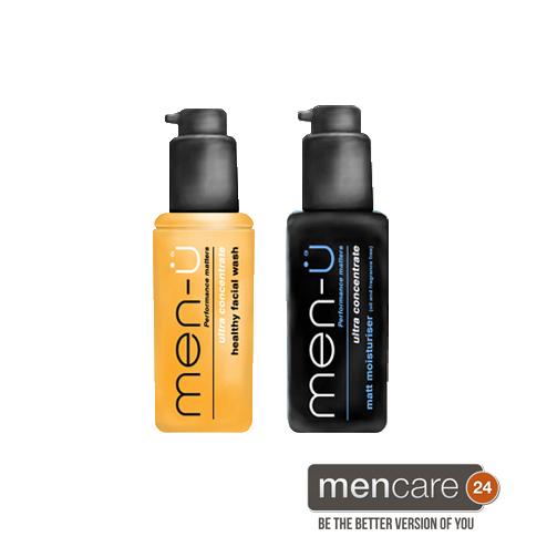 healthy facial wash matt moisturiser