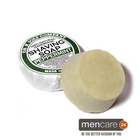 shaving soap peppermint